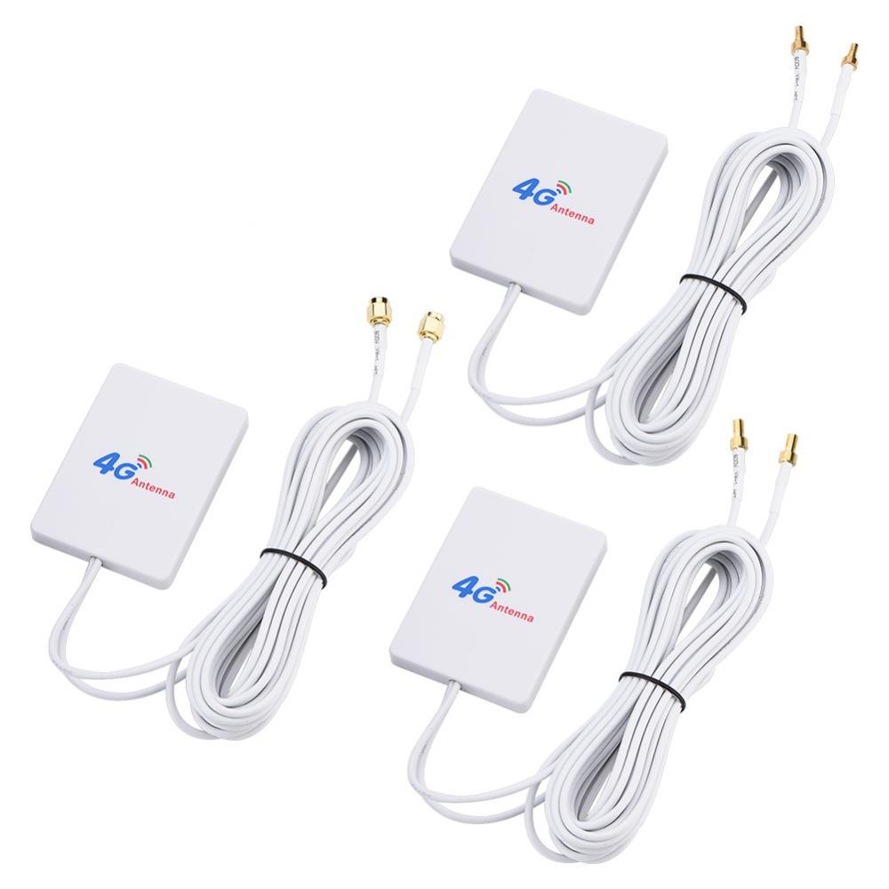 4G 3G WiFi Antenna 28dBi LTE Antenna Signal Amplifier 4G 3G Mobile Router WiFi Antenna SMA