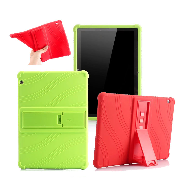 30PCS/Lot 9 Soft Stand Rubber Cover Case For Huawei Mediapad T3 10 Silicone Cases