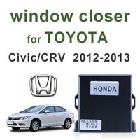 Car Auto power window closer for Honda Civic CRV easy installation power window closer module window roll up 2012 2013