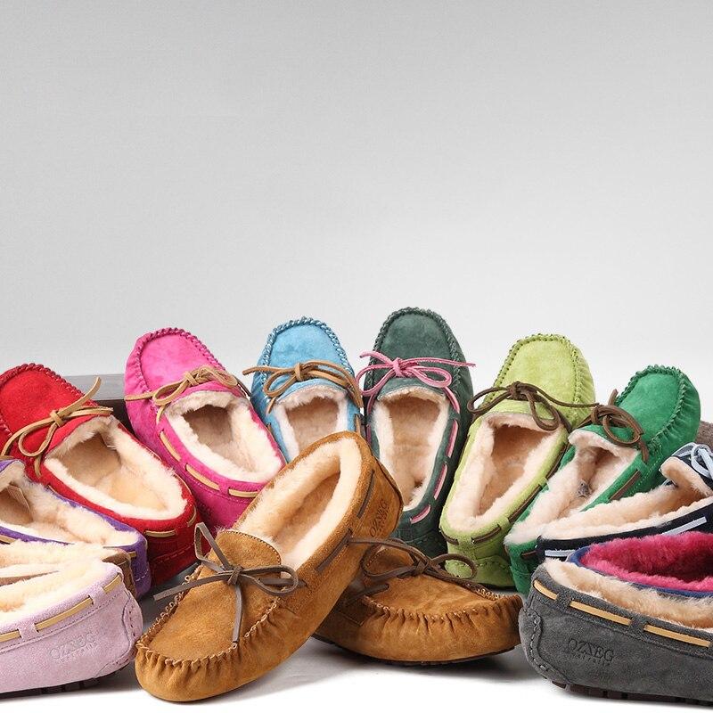 Qualité Les De Fourrure Haute En z5612g Véritable Doux Hiver Chaud Mocassins Cuir Pour Chaussures z5612h z5612j Plates Femmes z5612f z5612d Dames z5612c Occasionnels Genuime Appartements Z5612a 86Uaaq