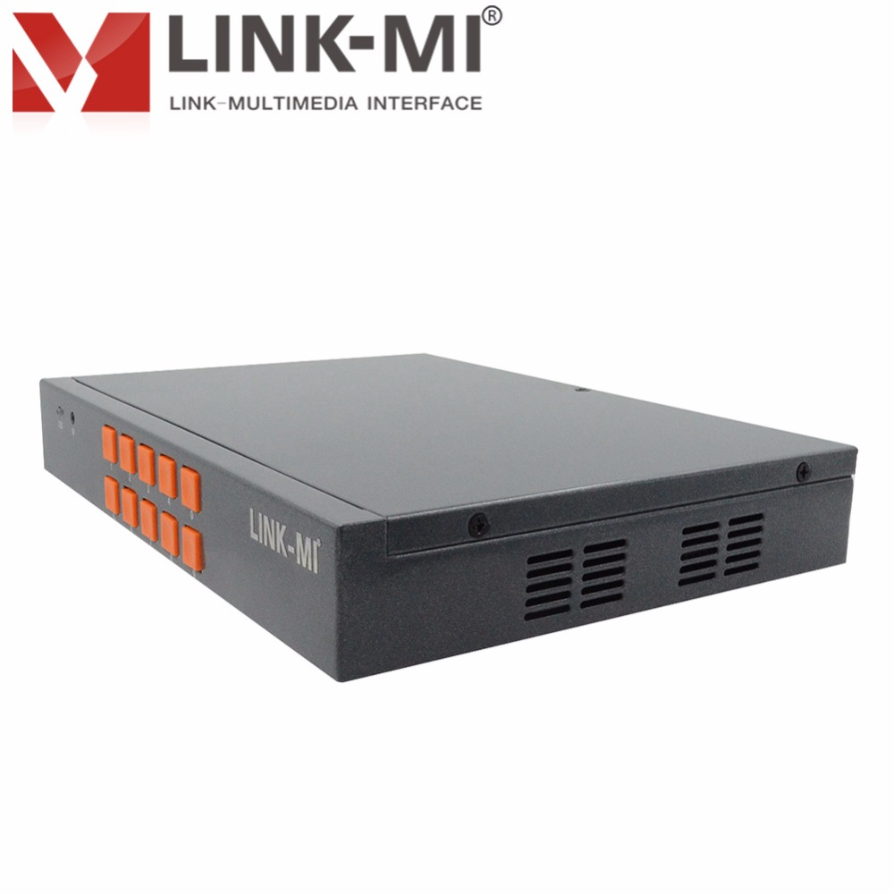 LINK-MI LM-SH21 HDMI VGA CVBS 2x1 stikalo HD Video sintetizator - Domači avdio in video - Fotografija 3