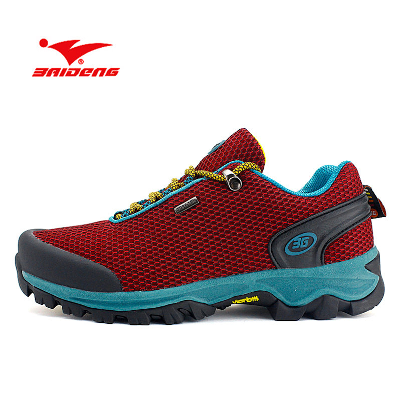BAIDENG Footwear Wear Resistant Outdoor Shoes Breathable Walking Shoes Mesh Leather Anti-skid Spring  Sport Shoes Sneakers 2016 spring child sport shoes leather boys shoes girls wear resistant casual shoes