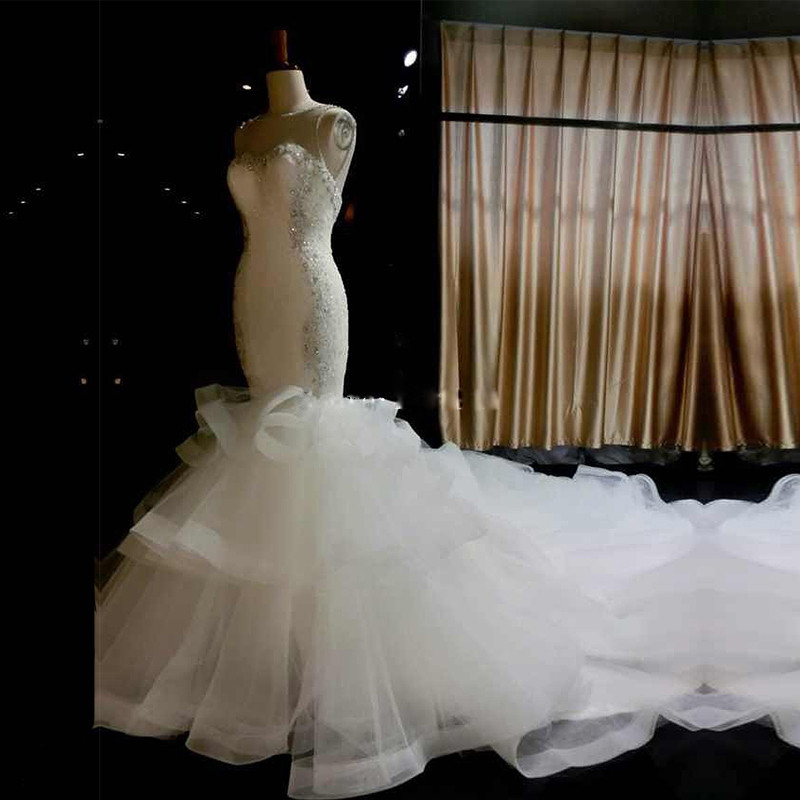 Buy 2016 scoop sleeveless appliques for Wedding dress appliques suppliers