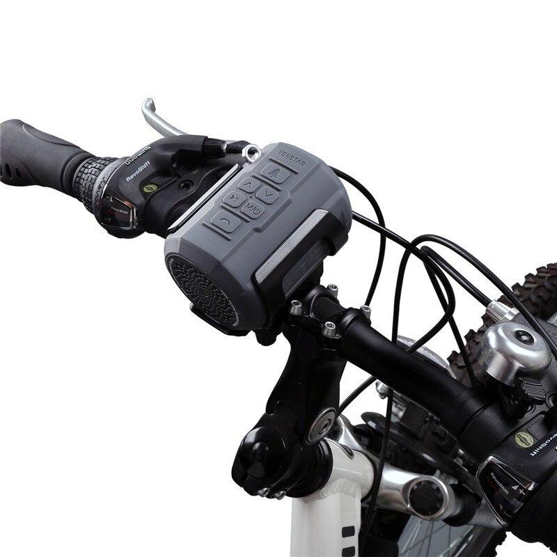 VENSTAR S404 haut-parleur Bluetooth Portable sans fil pour cyclisme Sport HiFi basse colonne avec Radio FM, support de vélo, télécommande - 4
