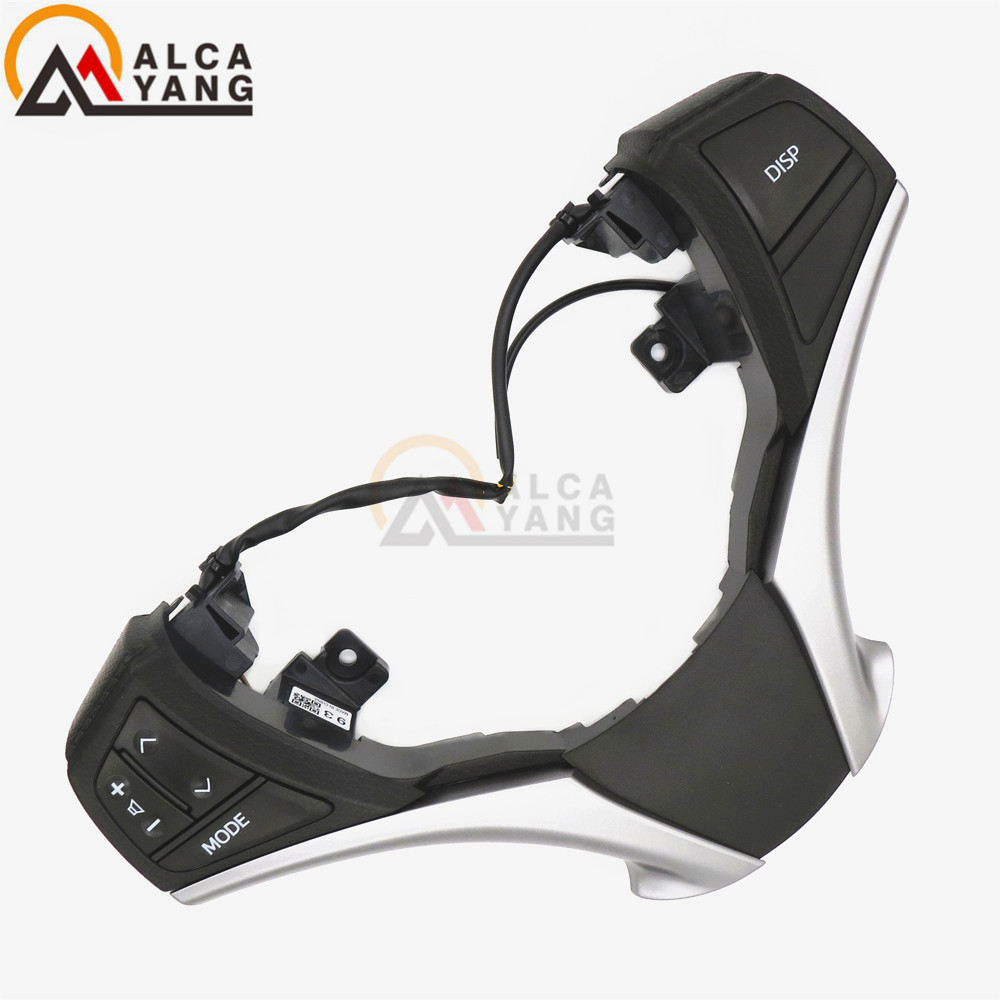 Malcayang Bluetooth Audio Steering Wheel Switch 84250-0D120-E0 For Toyota Corolla RAV4 84250-0D120 steering wheel switch audio bluetooth control 84250 02560 8425002560 for toyota rav4 corolla 2014 2015