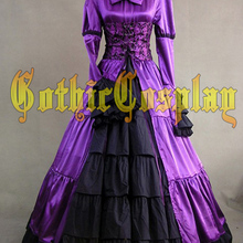 Adult Southern Belle Costume Halloween costumes for Women Purple Victorian dress  Ball Gown Gothic lolita dress 4b7e73ff8cd8