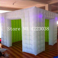 Free Shipping Inflatable Portable Photo Booth Enclosure with and Inner Air Blower for Weddings Parties Promotions Advertising