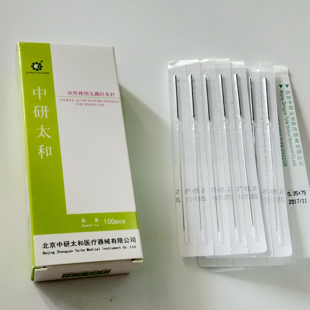 Universal acupuncture needles disposable acupuncture needles sterile sterilization individual pack needles 100pcs/box