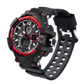 Superior New Men's Rubber Band LED Digital Sports Waterproof Diving Quartz Wrist Watch wholesale Free shipping