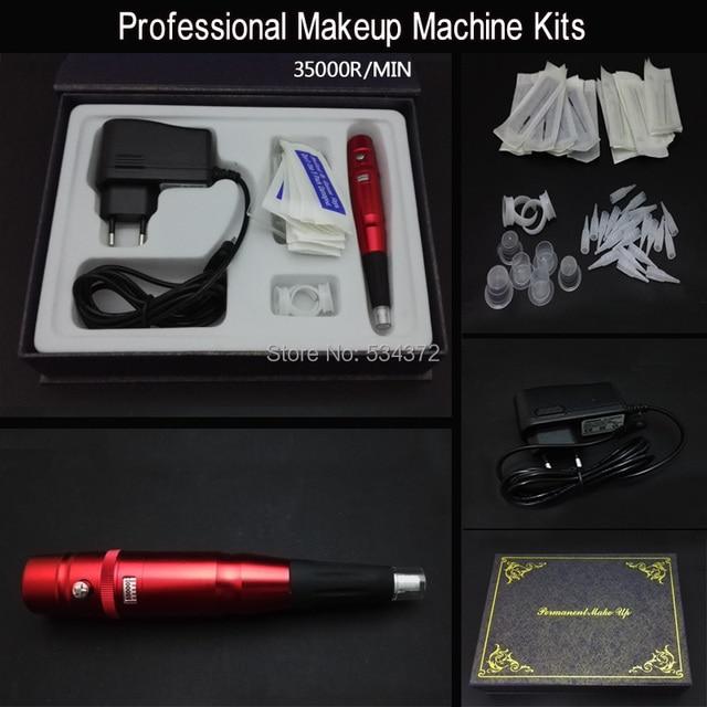 Red 35000R Eyebrow Lips Mackeup Pen Permanent Makeup Machine Kits