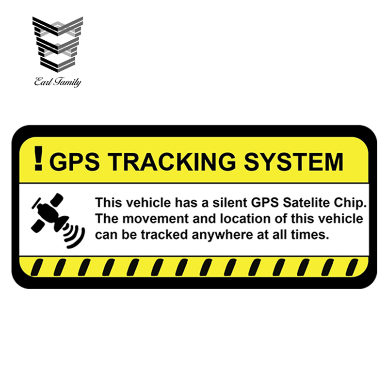 Decals // Stickers GPS Tracking For Vehicle Car Truck etc