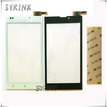 Syrinx With 3M Tape 5.0 inch Touch Screen Digitizer Front Glass Lens For DEXP Ixion EL150 EL 150 Sensor Panel Touchscreen(China)