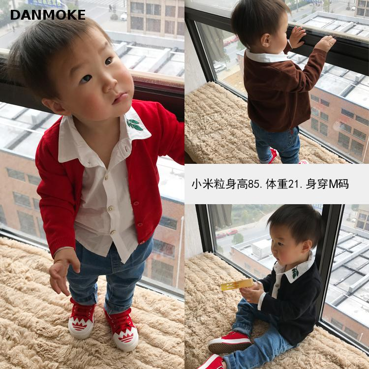 Danmoke-Autumn-Baby-Girl-Sweater-Casual-Baby-Girl-Boy-Cotton-Cardigan-Long-Sleeve-O-neck-Solid-Children-Sweater-Coats-2