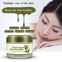 HOT Care Pigskin Collagen Nourishing Mask / Carbonated Bubble Clay Mask 100g