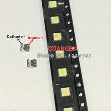 120PCS LED 3535 2W 6V Cool white FOR LCD TV repair for LG Innotek led TV backlight strip lights with light-emitting diode SMD