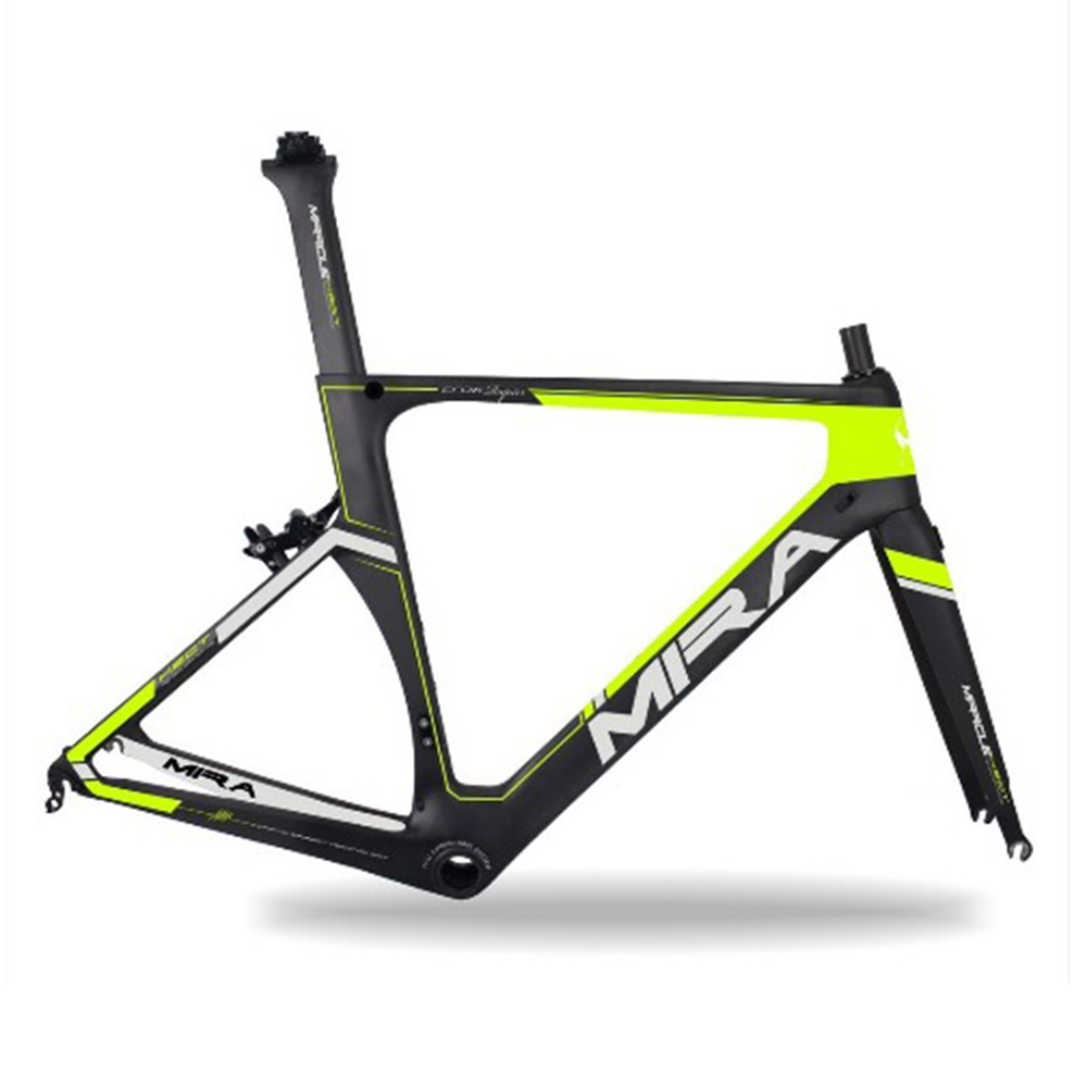 2018 Miracle Latest AERO road bicycle carbon frame R06 New road carbon bikes frame UD Matte 48/52/54/56/59cm
