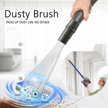 Dust Cleaner Vacuum Straw Tubes Multifunction Brush Remover Portable Universal Attachment Clean Tools