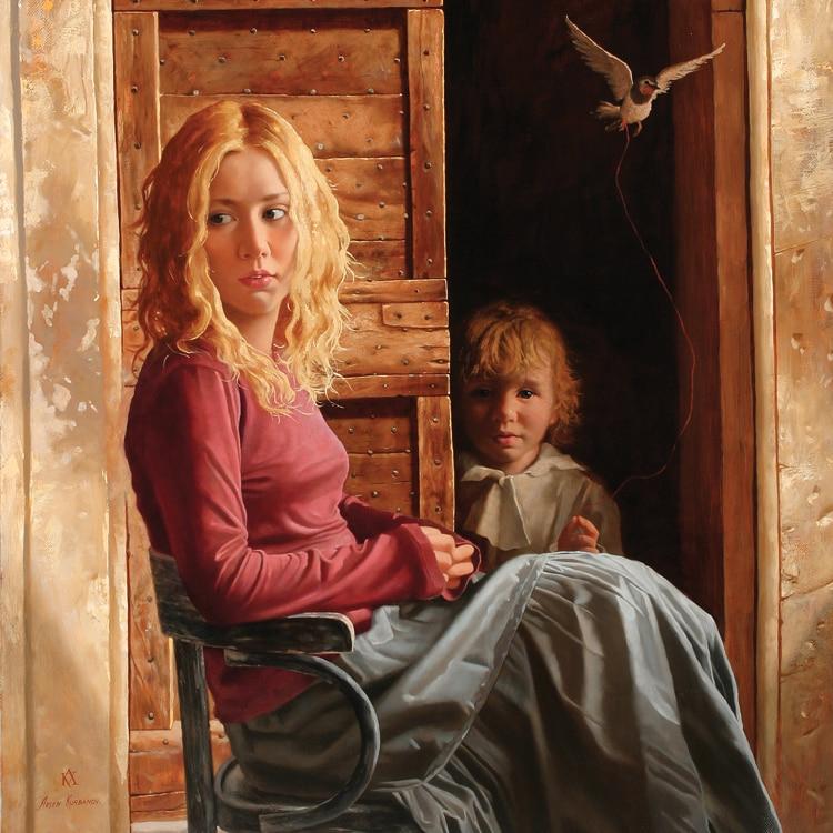 художества, фото сюжетных портретов маслом это почти связанно