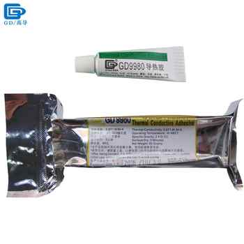 GD9980 Thermally Conductive Adhesive Cement Glue Heat Sink Plaster Silicone White For LED VGA ST85 ST10 - DISCOUNT ITEM  0% OFF All Category