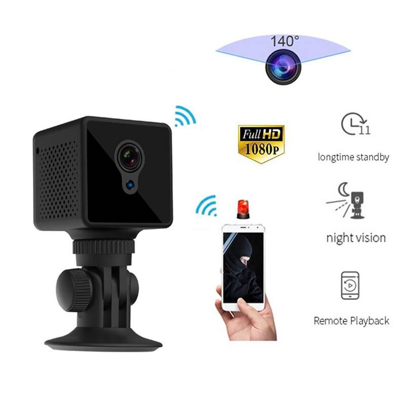 S8Vehicle Mini Caméra IP Wifi HD Vision Nocturne 1080 P Détection De Mouvement Capteur CMOS Lecture Vidéo Sans Fil Cachée Détection De Mouvement