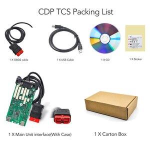 Image 3 - CDP TCS CDP TCS פרו multidiag פרו + OBDII bluetooth סורק יחיד לוח 2015.R3/2016.00 סדק מכוניות משאיות OBD 2 אבחון כלי