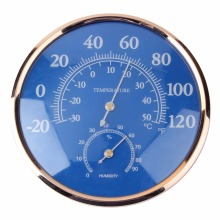 Large Round Indoor Outdoor Thermometer Hygrometer Temperature Humidity Meter Thermometer Tester Table stand wall hang Decor