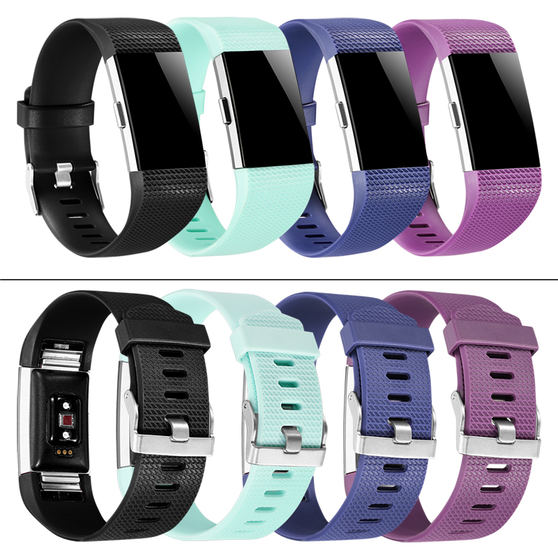 Best Price Wristband Wrist Strap Smart Watch Band Strap Soft Watchband Replacement Smartwatch Band For Fitbit Charge 2 Charge2 Home