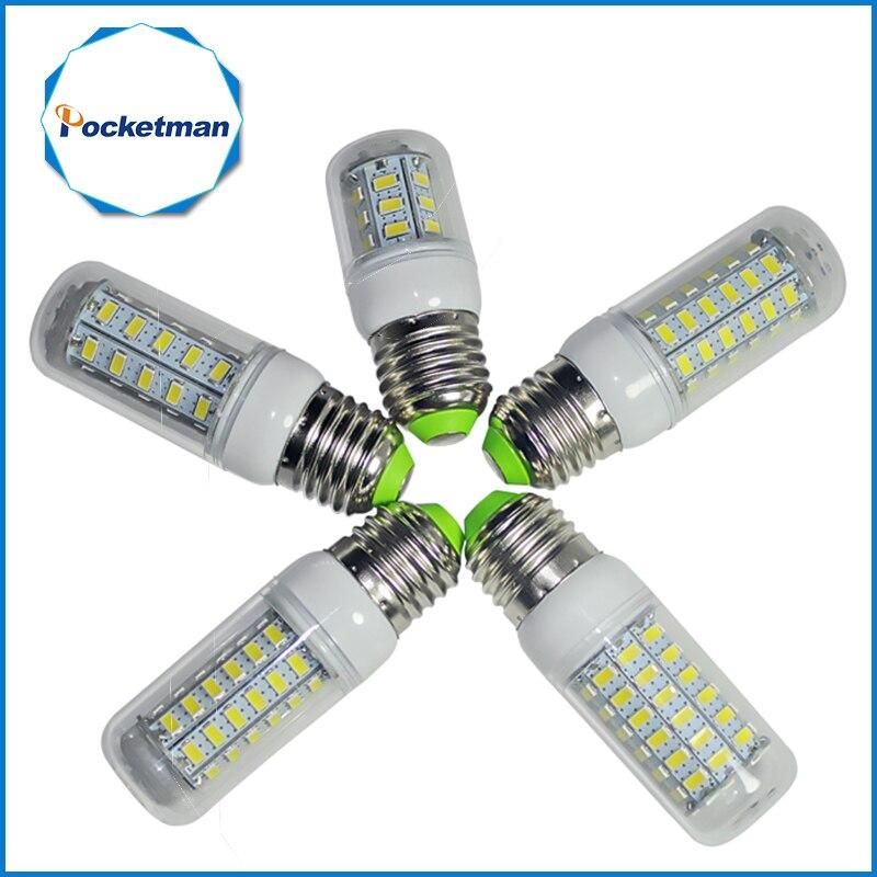 LED Corn Bulb E14 E27 Lamp 5730 SMD Corn Bulb E27 110V 220V LED Bulb 24LED 36LED 48LED 56LED 69LED SMD5730 light