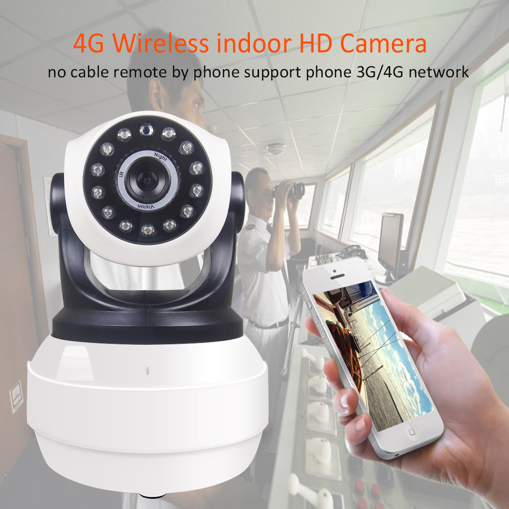 960P HD Wireless 3G 4G Wifi Security Surveillance Camera 1.3MP WiFi Wireless Camera P2P Ptz Network Support SIM Card TF Card Cam
