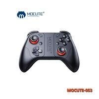 Game Pad Controlador de Joystick Android Bluetooth Selfie MOCUTE0 53 VR Controle remoto Sem Fio Gamepad para PC Entregas VR TV caixa
