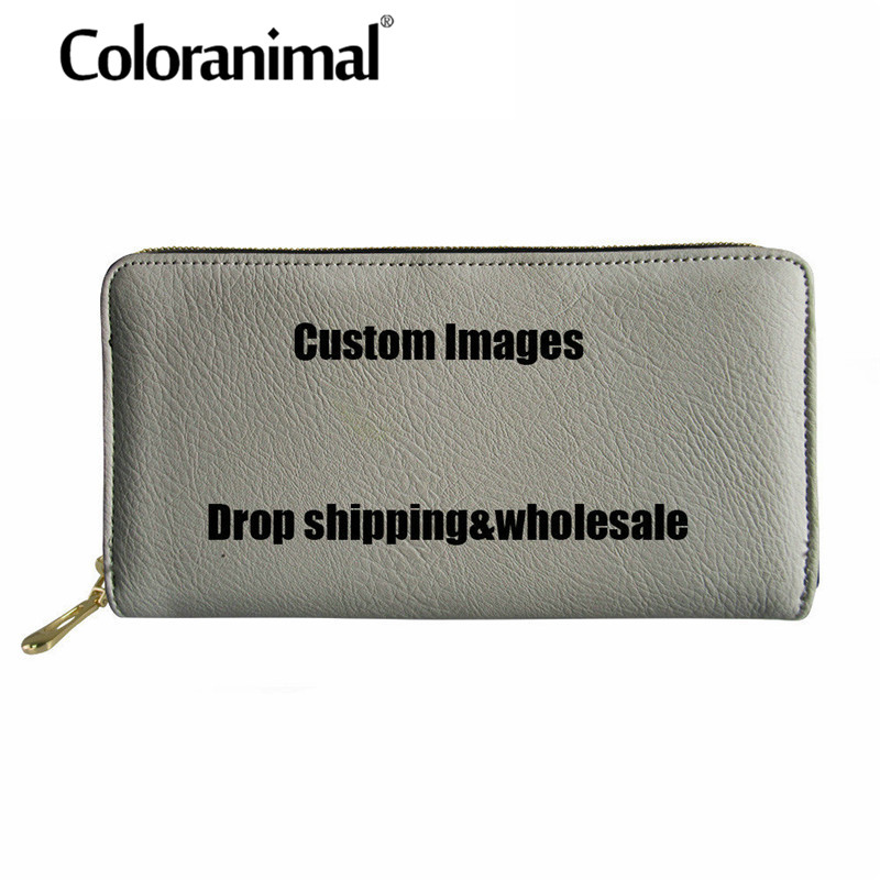 Coloranimal Customized Women Men Wallets Card Holder /Cash Coin Pocket Money Clutch Portable Tote Leather Purse Your Image HereColoranimal Customized Women Men Wallets Card Holder /Cash Coin Pocket Money Clutch Portable Tote Leather Purse Your Image Here