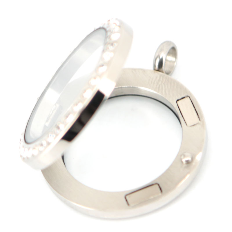 Բարձրորակ 25 մմ կլոր մագնիս բյուրեղյա - Նորաձև զարդեր - Լուսանկար 5