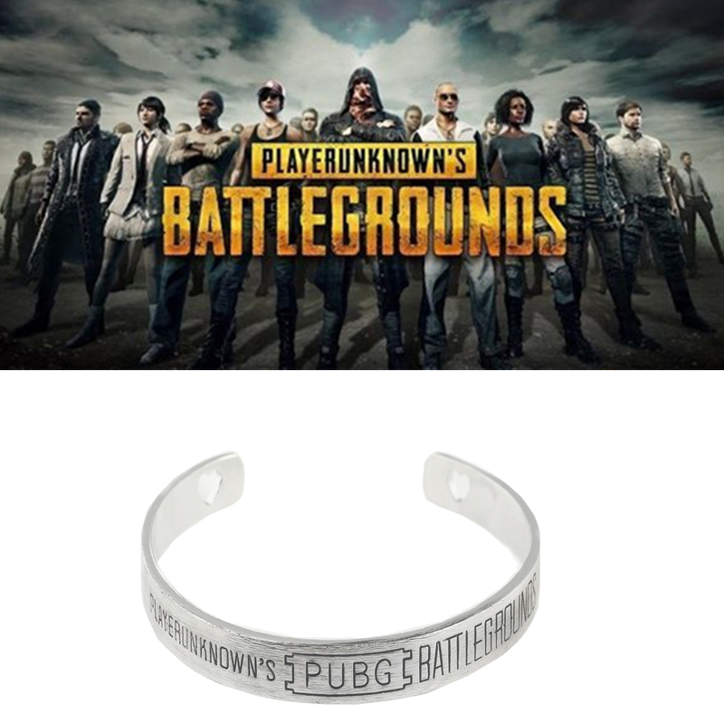 game pubg bracelets PLAYERUNKNOWN'S BATTLEGROUNDS wristband cosplay prop