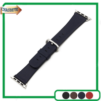 Genuine Leather Watchband 38mm 42mm For IWatch Apple Watch Sport Edittion Strap Band Loop Belt Wrist