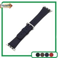 Genuine Leather Watchband 38mm 42mm For IWatch Apple Watch Sport Edittion Strap Band Loop Belt Wrist