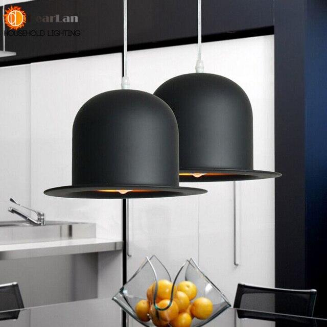 Modern Lamp Holder Jeeves U0026 Wooster Top Hat Pendant Light Aluminum Fedora  Hat Light Dining Room