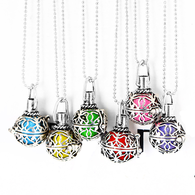 FUNIQUE Aromatherapy Necklace Aroma Perfume Diffuser Hollow s