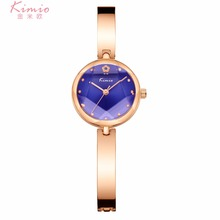 Kimio Hot Sales Womens Watches Elegant Luxury Rhinestone watch Women reloj mujer Gold Bracelet Ladies clock saat fashion montre