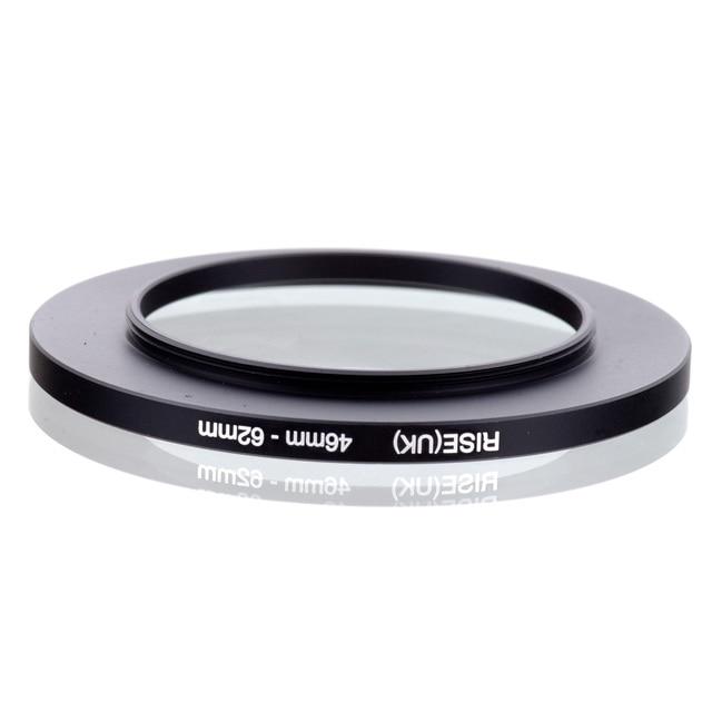 Precio más bajo 46mm-62mm 46-62mm 46 a 62 adaptador de anillo de filtro de aumento