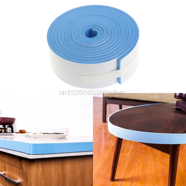 Край стола защитный бампер полосы предохранительный кожух для детей плоскости полосы 200*3,5 см PE резиновая # HC6U Прямая доставка