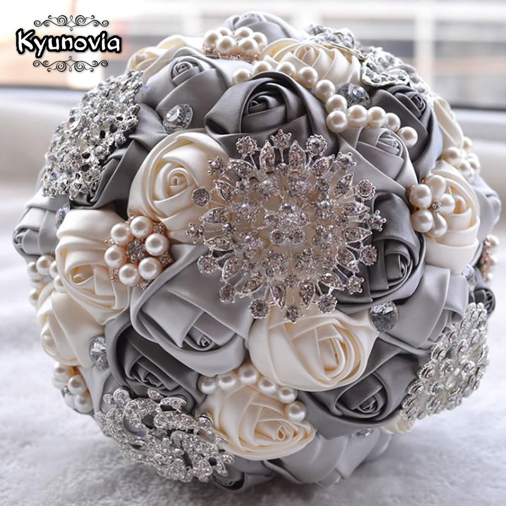 Kyunovia Cel mai bun preț Buchet de mireasă Buchet de mireasă - Accesorii de nunta - Fotografie 5