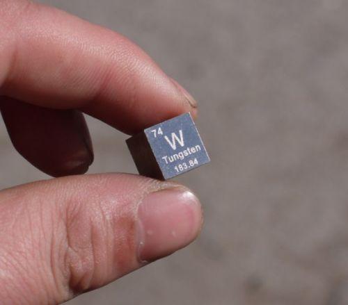 Tungsten Density Cube 10mm 99.99% Pure Tungsten Metal Cube