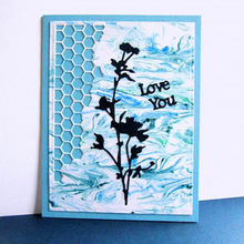 Hot sale Flower Carbon steel Cutting Dies Stencil Craft for DIY Creative Scrapbook Cut Stamps Embossing Paper Hand