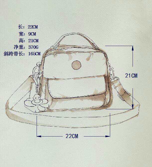 1a65a22d1 Bolso Femeninos Clásico Año 100 15 Nylon Modelos 9 14 12 3 10 Original 4 5  ...