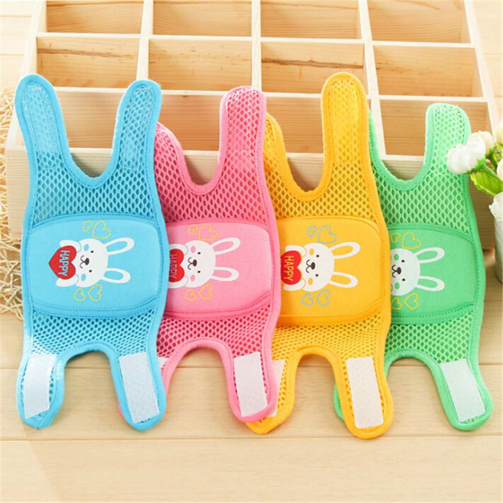 1Pair Kids Cartoon Crawling Elbow Infants Toddlers Baby Knee Pads Protector Safety Mesh Kneepad Leg Warmer Children