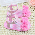 Baby Girl Floral Summer Crib Soft Sole Non-slip Princess Shoes 0-18M