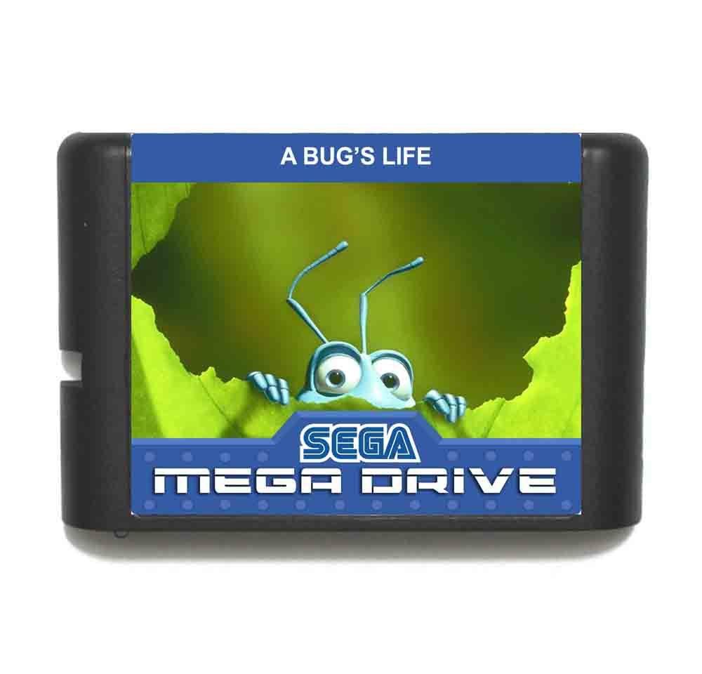 A bugs Life 16 bit MD Game Card For Sega Mega Drive For Genesis