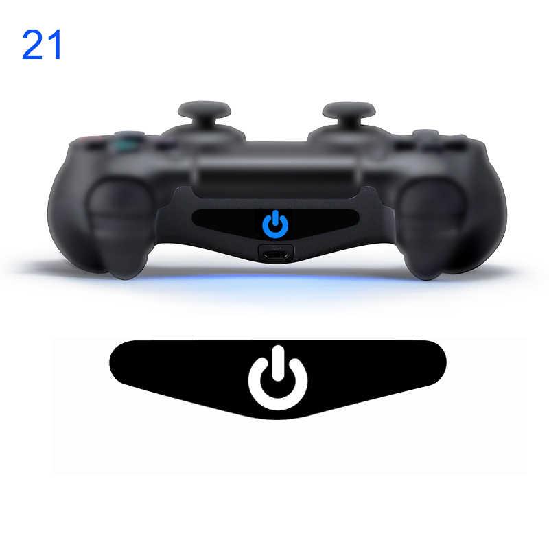 Ygcdo 2 Pcs Kustom Permainan Cahaya Bar Stiker Lightbar LED Film untuk Sony PS4 PlayStation 4 DualShock 4 Controller warna Acak