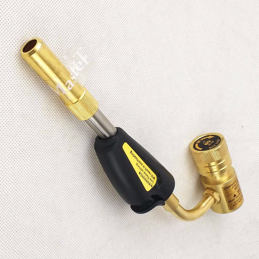 MAPP Torch Gas Welding Torch Self Ignition Gas Brazing Burner Soldering Quenching BBQ Burner CE Approved HVAC/R Hand Torch