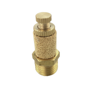 10PCS/LOT Pneumatic muffler adjustable Throttle silencer pneumatic fittings exhaust muffler(China)